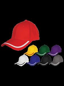 MCJ –  Panels Cotton Brush Piping Cap