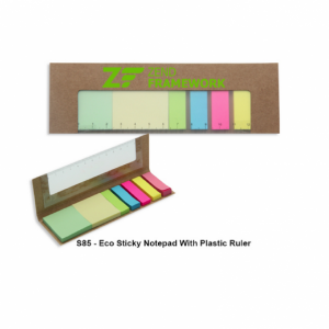 s85-eco-sticky-notepad-with-plastic-ruler