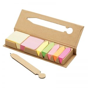 Desktop Sticky Note Set with Ballpen 5002
