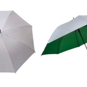 manual golf umbrella green