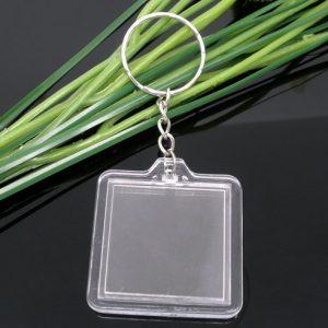 8-MUSIM-10-Key-Chains-Key-Rings-W-Transparan-Bingkai-Foto-Keychain-B05718-