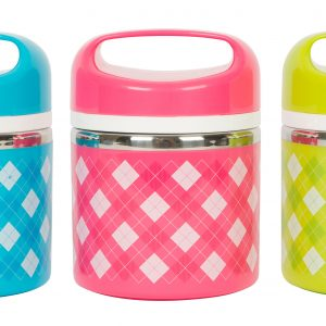 Colourful Stainless Steel Lunch Box HS A copy